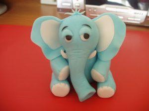 Фигурки из мастики: как сделать слона – мастер-класс-шаг 10