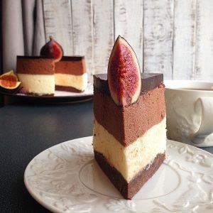Сливочно-шоколадный муссовый торт – нежность и наслаждение!-шаг 1