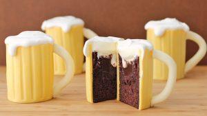 Торт Кружка пива – великолепный торт для мужчины: мастер класс-шаг 7