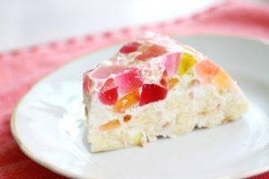 Фруктовый торт с желе простого приготовления-шаг 1