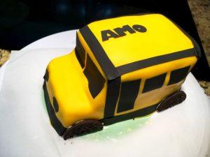 Торт Машинка – мастер-класс по оформлению-шаг 5