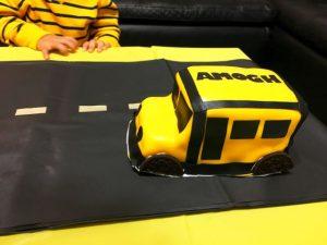 Торт Машинка – мастер-класс по оформлению-шаг 6