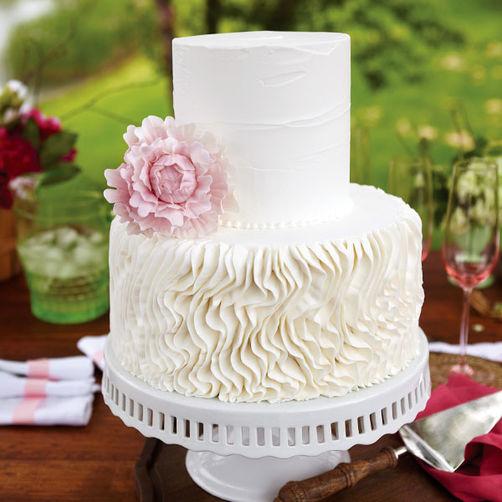 Как в домашних условиях сделать свадебный торт 233