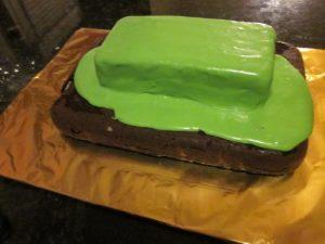 Торт на 23 февраля – оригинальный торт Танк-шаг 3