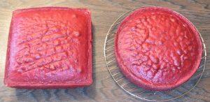 Торт Сердце на 14 февраля-шаг 1