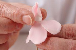 роза из мастики-шаг 6