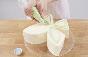 Торт Бабочка – замечательный торт для девочки из крема-шаг 3