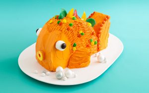 торт Рыба-шаг 1