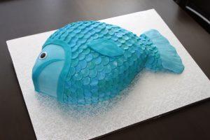 торт Рыба-шаг 2