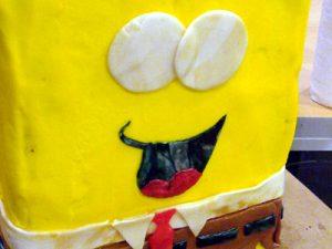 Торт Губка Боб для мальчика – мастер-класс-шаг 5