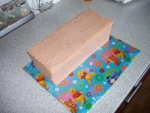 Торт Машинка – как сделать Пожарную машину-шаг 3