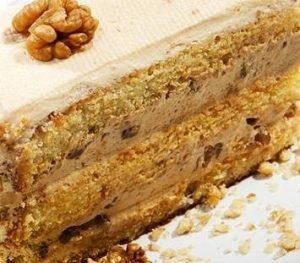 Пирог с варёной сгущёнкой и орехами - пошаговый рецепт с фото на ... | 263x300