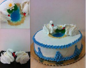 Торт на День Влюбленных -шаг 4