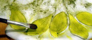 Цветок из мастики – нежная магнолия-шаг 8