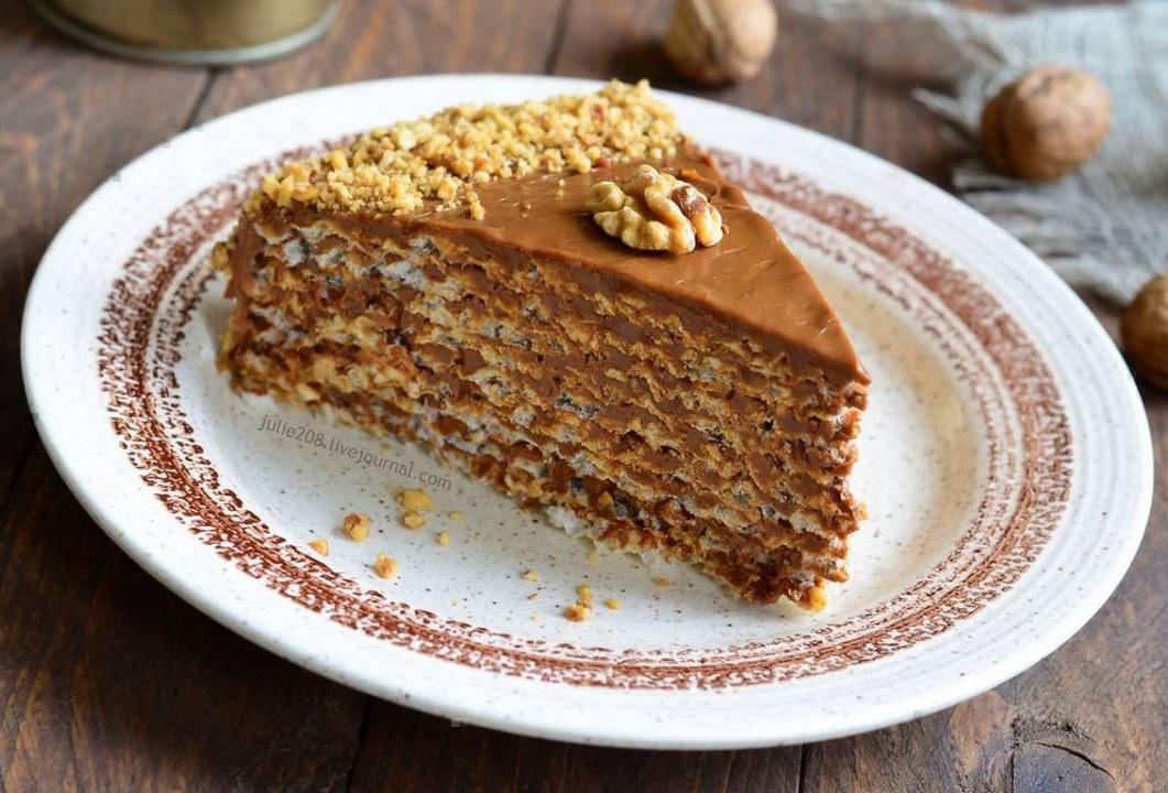Торт с вареной сгущенки рецепт с фото