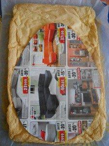 Торт на День рождения – Киндер сюрприз-шаг 2