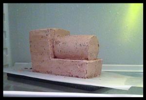 Торт для мальчика Паровозик Томас – мастер-класс-шаг 4