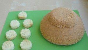 Торт из мастики – Черепаха: мастер-класс-шаг 1