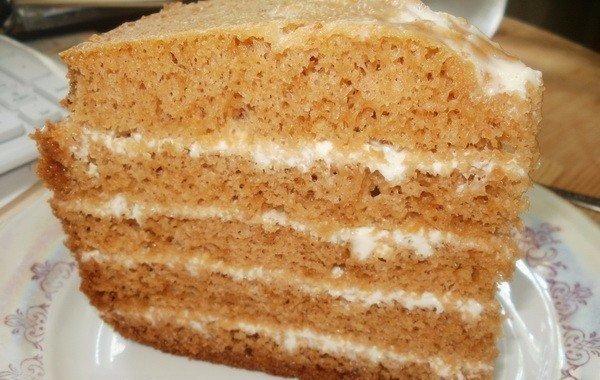 Простые торт в мультиварке рецепты с фото