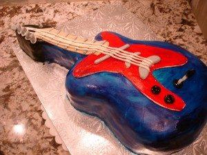 3D торт для мужчин Гитара-шаг 9