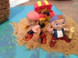 3D торт для мальчика Корабль пиратов-шаг 13