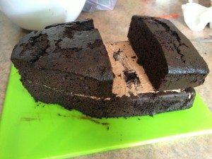 3D торт для мальчика Корабль пиратов-шаг 4