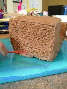 3D торт для мальчика Корабль пиратов-шаг 9