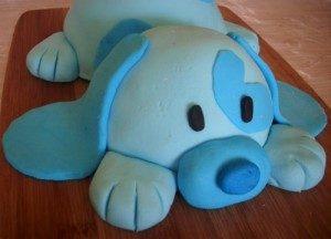 3D торт на День рождения Собачка – подарите ребенку радость!-шаг 5