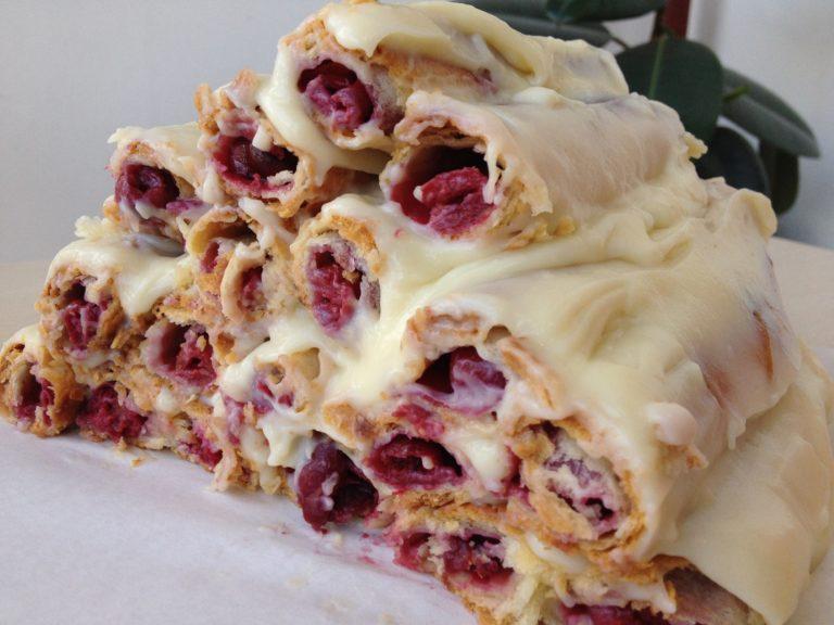 Рецепт торта монастырская изба из слоеного теста