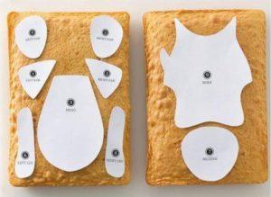 Торт собачка из крема – мило и забавно!-шаг 1
