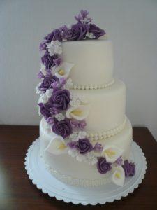 Невероятно красивый свадебный торт!-шаг 1