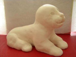 Животные из мастики: как сделать тигра для украшения торта-шаг 3