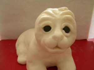 Животные из мастики: как сделать тигра для украшения торта-шаг 4