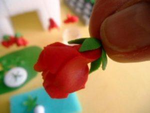 Цветы из мастики – нежная герань. Мастер-класс-шаг 8