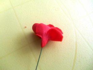 Цветы из мастики – нежная герань. Мастер-класс-шаг 4