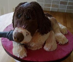 Новогодний торт 2018 – как приготовить торт Собаку-шаг 1